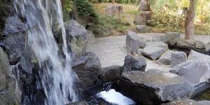 世界の庭園ー滝